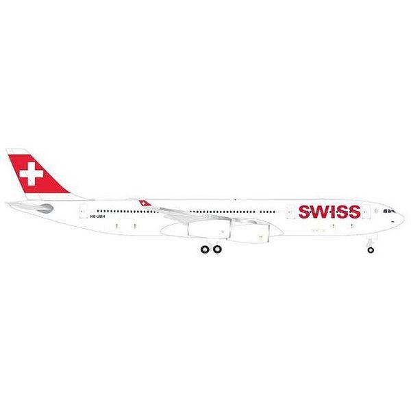 【9月予約】ヘルパウイングス 1/500 A340-300 スイス インターナショナル エアラインズ 完成品モデル HE524971-001