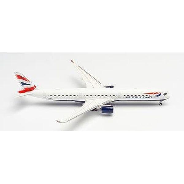 【9月予約】ヘルパウイングス 1/500 A350-1000 ブリティッシュ エアウェイズ G-XWBG 完成品モデル HE533126-002
