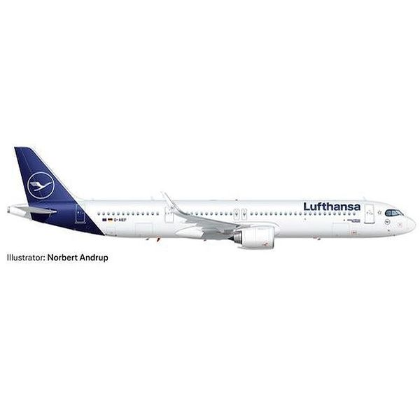 """【9月予約】ヘルパウイングス 1/500 A321neo ルフトハンザ D-AIEF """"Forchheim"""" 完成品モデル HE534376-001"""