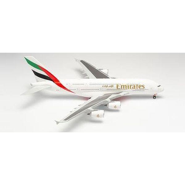 【9月予約】ヘルパウイングス 1/200 A380-800 エミレーツ航空 A6-EVN 完成品モデル HE555432-003