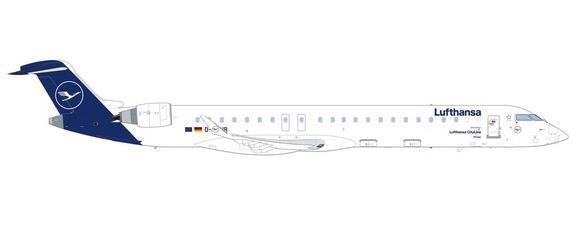 """【3月予約】ヘルパウイングス 1/500 CRJ-900 ルフトハンザ航空 """"Ratingen"""" D-ACNR 完成品モデル HE535045"""
