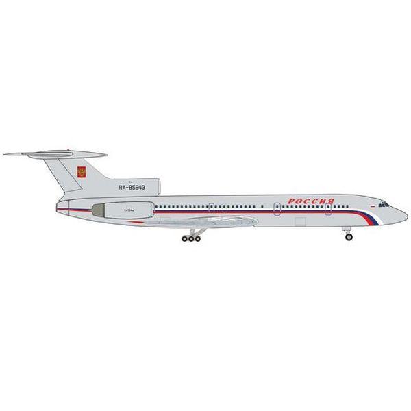 【7月予約】ヘルパウイングス 1/500 Tu-154M ロシア航空 政府専用機 RA-85843 完成品モデル HE535151