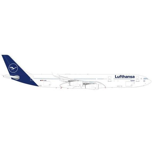 """【7月予約】ヘルパウイングス 1/500 A340-300 ルフトハンザ航空 D-AIGU """"Castrop-Rauxel"""" 完成品モデル HE535410"""