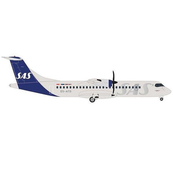 """【9月予約】ヘルパウイングス 1/500 ATR-72-600 スカンジナビア航空 ES-ATD """"Skjalm Viking"""" 完成品モデル HE535472"""