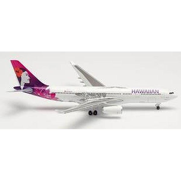 """【9月予約】ヘルパウイングス 1/500 A330-200 ハワイアン航空 N361HA """"Hoku Mau"""" 完成品モデル HE535557"""