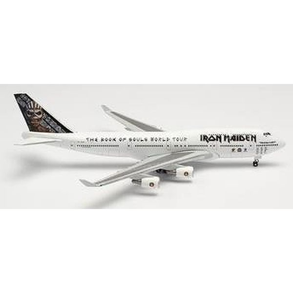 """【9月予約】ヘルパウイングス 1/500 747-400 アイアンメイデン (Air アトランタ Icelandic) """"Ed Force One"""" 2016 TF-AAK 完成品モデル HE535564"""