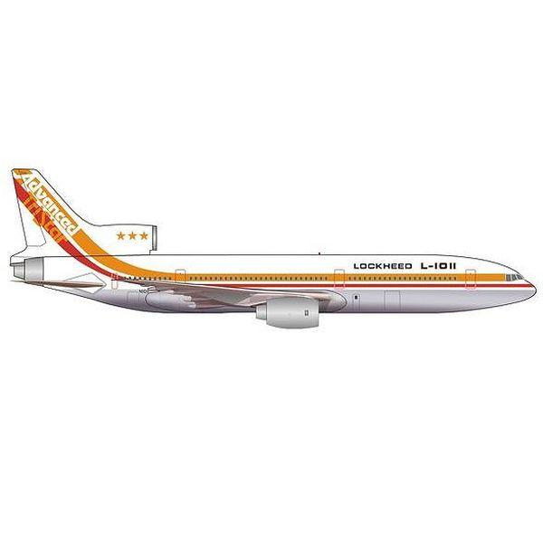 """【9月予約】ヘルパウイングス 1/500 L-1011 """"Advanced Tristar""""ロッキード ハウスカラー N1011 完成品モデル HE535571"""