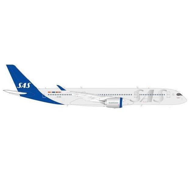 """ヘルパウイングス 1/200 A350-900 SAS スカンジナビア航空 """"""""Hagbard Viking"""""""" SE-RSB 完成品 艦船・飛行機 HE570923"""