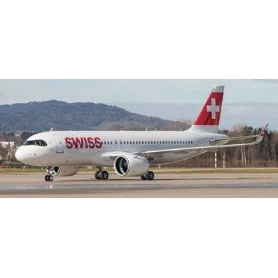 """ヘルパウイングス 1/200 A320neo スイスインターナショナル航空 """"""""Engelberg"""""""" HB-JDA 完成品 艦船・飛行機 HE570947"""