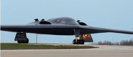 """【3月予約】ヘルパウイングス 1/200 B-2A アメリカ空軍 第509爆撃航空団 13爆撃飛行隊 No.93-1088 """"Spirit of Louisiana"""" 完成品モデル HE571265"""