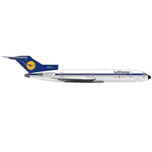 """【9月予約】ヘルパウイングス 1/200 727-200 ルフトハンザ航空 D-ABCI """"Karlsruhe"""" 完成品モデル HE571326"""