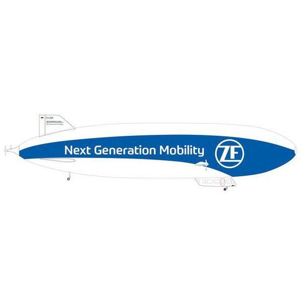"""【7月予約】ヘルパウイングス 1/200 ツェッペリンNT """"ZF/Next Generation Mobility"""" D-LZZF 完成品モデル HE571494"""