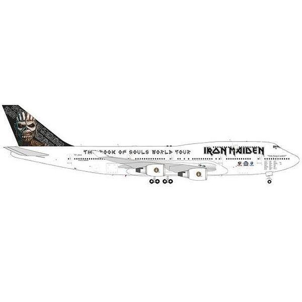 """【9月予約】ヘルパウイングス 1/200 747-400 アイアンメイデン (Air アトランタ Icelandic) """"Ed Force One"""" 2016 TF-AAK 完成品モデル HE571609"""