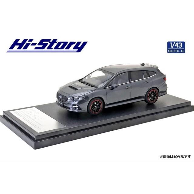 ハイストーリー 1/43 スバル レヴォーグ GT-H 2020 マグネタイトグレーメタリック 完成品ミニカー HS330GY