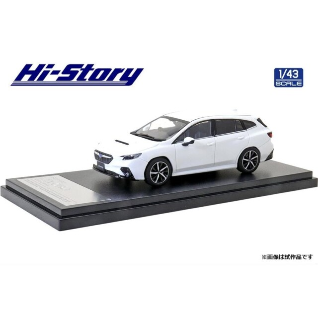 ハイストーリー 1/43 スバル レヴォーグ GT-H 2020 クリスタルホワイトパール 完成品ミニカー HS330WH