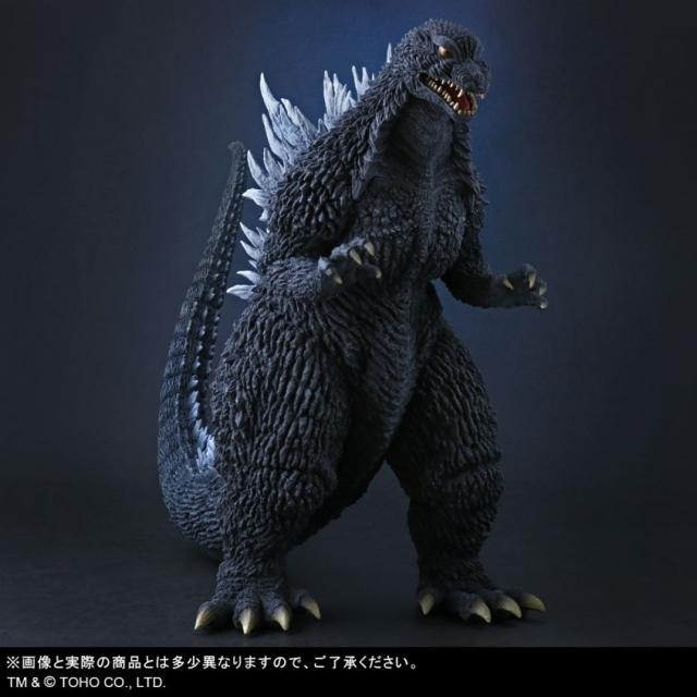 【5月予約】エクスプラス 東宝大怪獣シリーズ ゴジラ(2002) 一般流通版 「ゴジラ×メカゴジラ」より フィギュア 4532149018708
