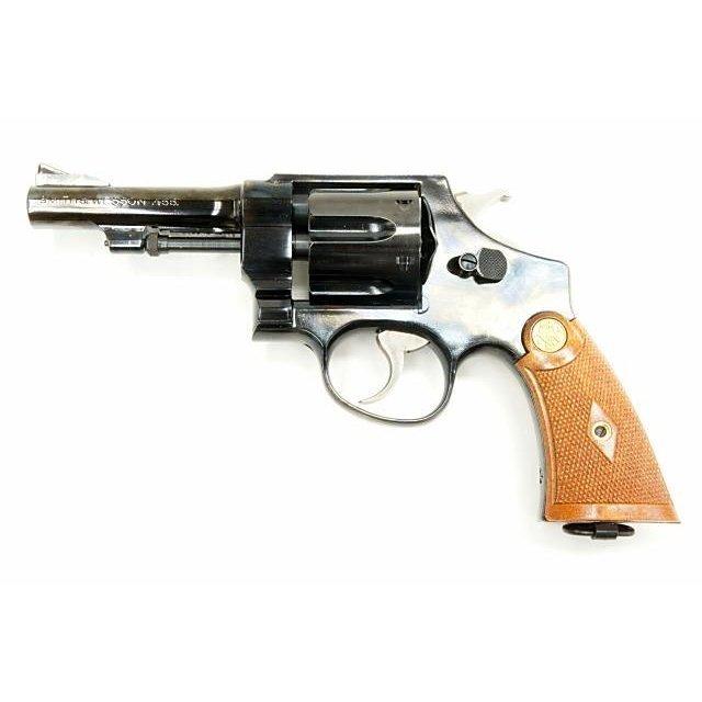 タナカ TANAKA スミス&ウェッソン M1917 Cal.455 HE 2nd 4インチカスタム スチールジュピターフィニッシュ ヘビーウエイト 発火モデルガン()
