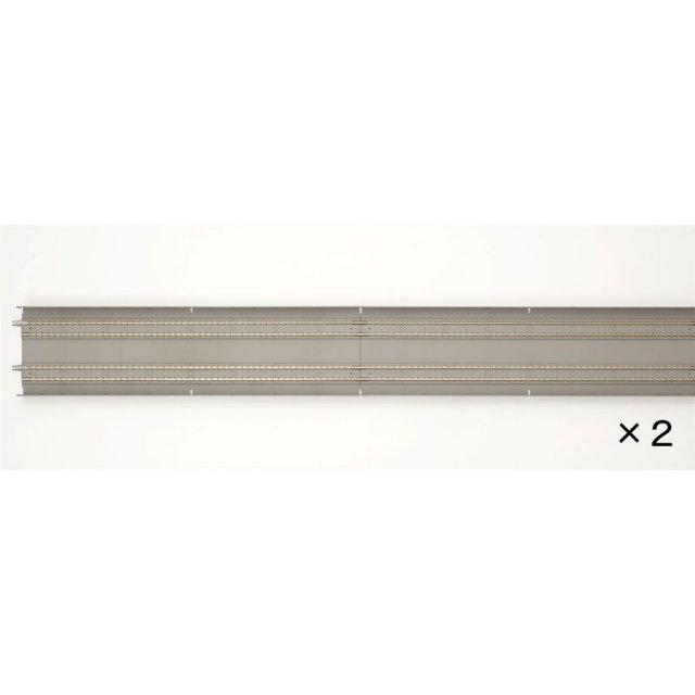 トミックス Nゲージ 複線スラブレールDS1120-SL(F)(2本セット) 鉄道模型パーツ 1070