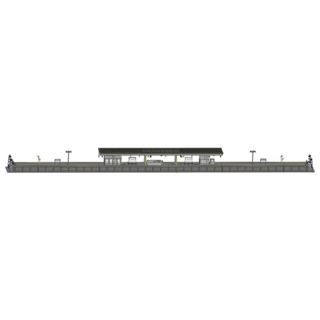 トミックス Nゲージ 島式ホームセット(都市型)直端・照明付 鉄道模型パーツ 4272