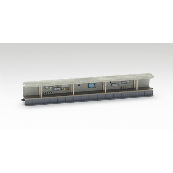 トミックス Nゲージ 対向式ホーム(都市型)照明付延長部 鉄道模型パーツ 4286