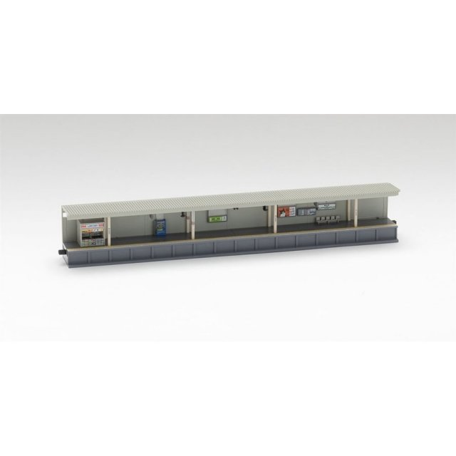 トミックス Nゲージ 対向式ホーム(都市型)売店・照明付延長部 鉄道模型パーツ 4288