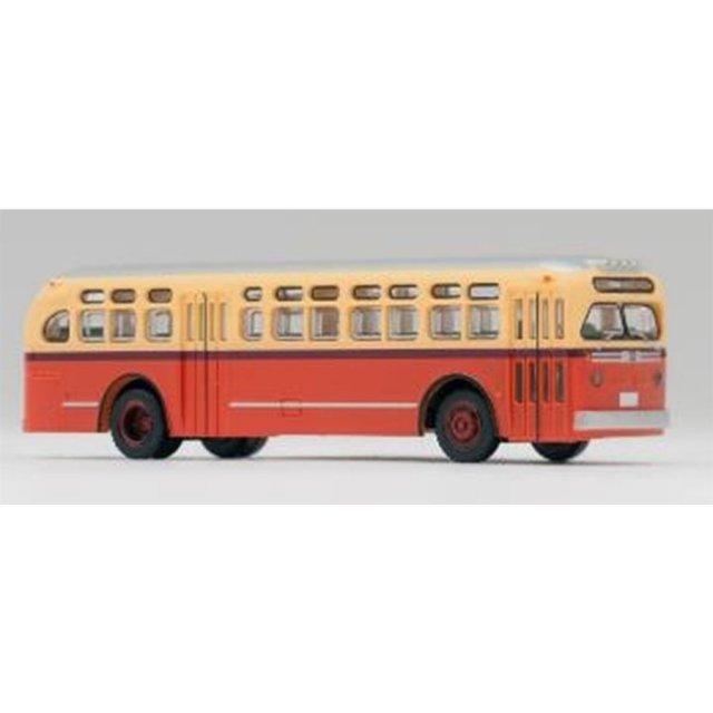 トミーテック Nゲージ ワールドバスコレクション GMC TDH4512(橙色) 鉄道模型パーツ WB002