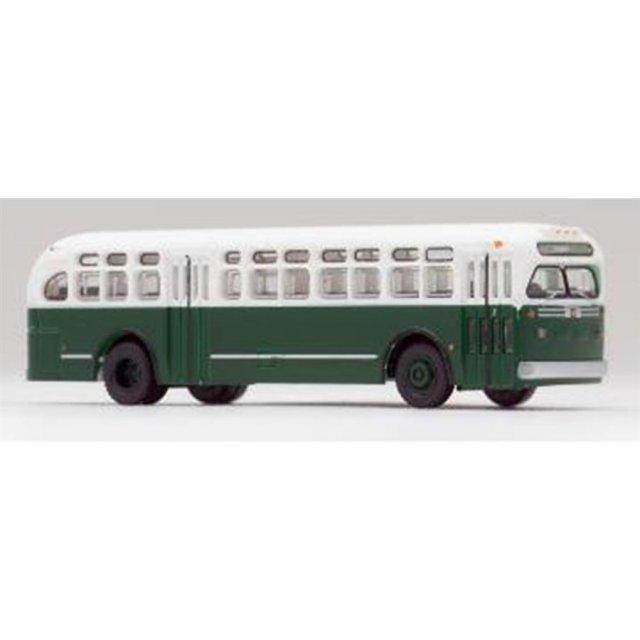 トミーテック Nゲージ ワールドバスコレクション GMC TDH4512(緑色) 鉄道模型パーツ WB003