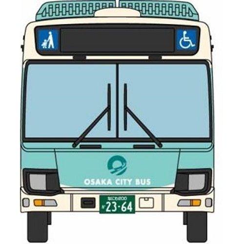トミーテック Nゲージ ザ・バスコレクション 大阪シティバス新デザインデビュー記念3台セット 鉄道模型パーツ 301882