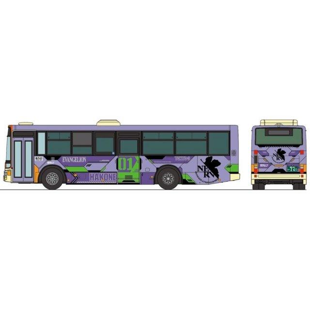 トミーテック Nゲージ ザ・バスクレクション箱根登山バス エヴァンゲリオンバス5台セット 鉄道模型パーツ 310839
