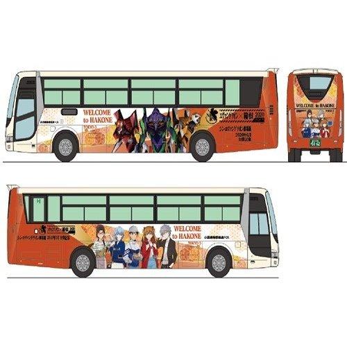 トミーテック Nゲージ ザ・バスコレクション小田急箱根高速バス エヴァンゲリオンラッピング2台セット 鉄道模型パーツ 311324