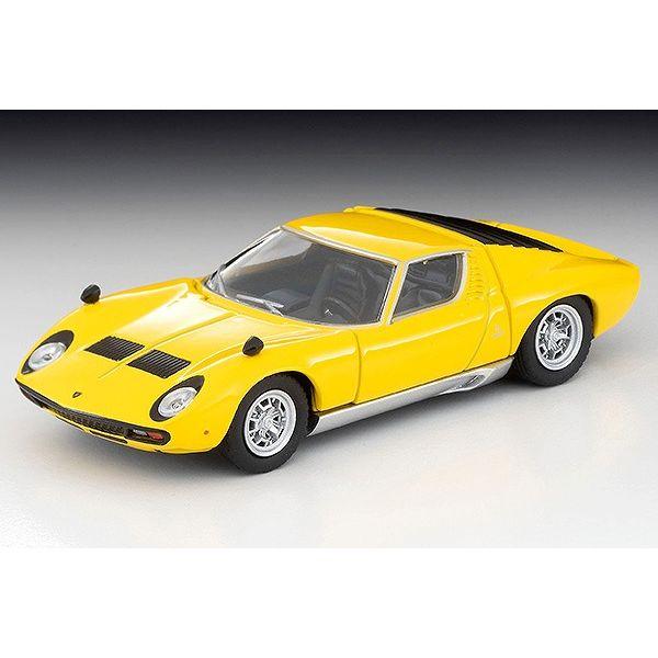 【12月予約】トミカリミテッド ヴィンテージ 1/64 LV ランボルギーニ ミウラ SV イエロー 完成品ミニカー 313151