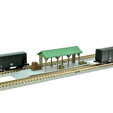 【6月予約】トミーテック Nゲージ 建コレ 駅C4 ~低いホーム 荷物・貨物用~ 鉄道模型パーツ 022-4