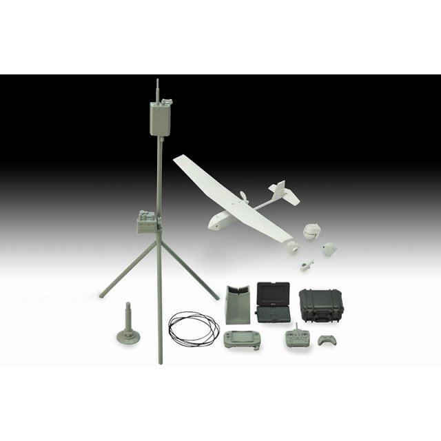 トミーテック 1/12 UAV 無人偵察機&機材セット 「リトルアーモリー」より フィギュア LD032