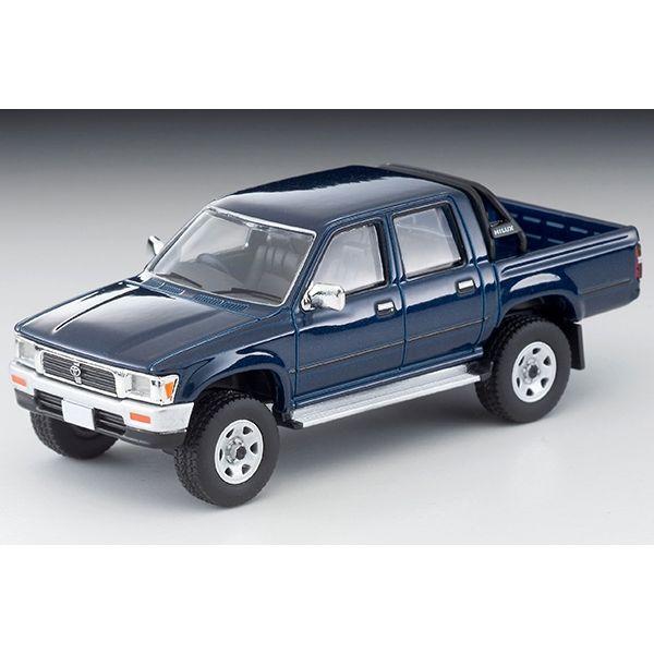 【2月予約】トミカリミテッド ヴィンテージネオ 1/64 トヨタ ハイラックス 4WD ピックアップ ダブルキャブSSR 1995 ネイビー 完成品ミニカー LV-N255A