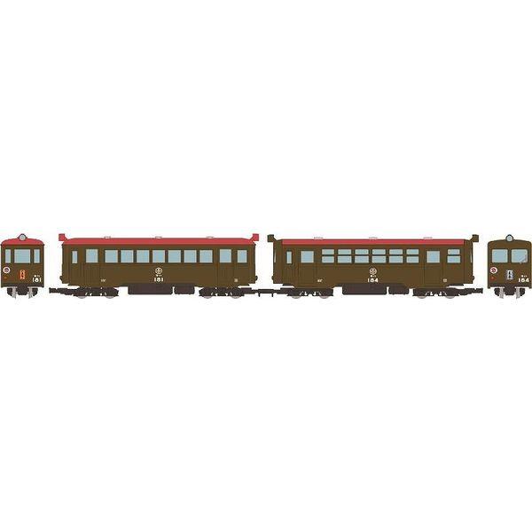 【10月予約】トミーテック HOゲージ 鉄道コレクション ナローゲージ80 猫屋線 直通急行「やまねこ」 キハ181・184 2両セット 鉄道模型 315506