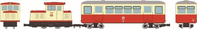 【2月予約】トミーテック Nゲージ 鉄道コレクション ナローゲージ80 想い出の尾小屋鉄道 DC121タイプ+ホハフ3タイプ 2両セット 鉄道模型 315520