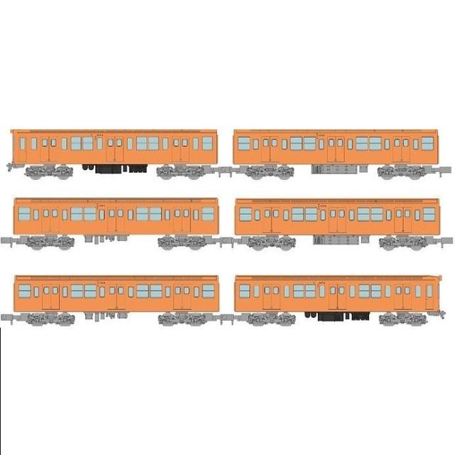 【5月予約】トミーテック Nゲージ 鉄道コレクション 営団地下鉄銀座線2063編成6両セット 鉄道模型 315537