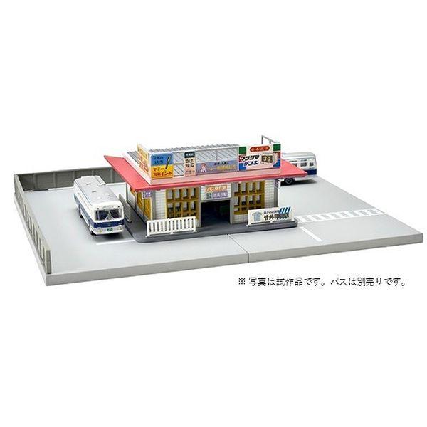 【10月予約】トミーテック Nゲージ 建コレ144-2 バスの駅2 鉄道模型パーツ 315568