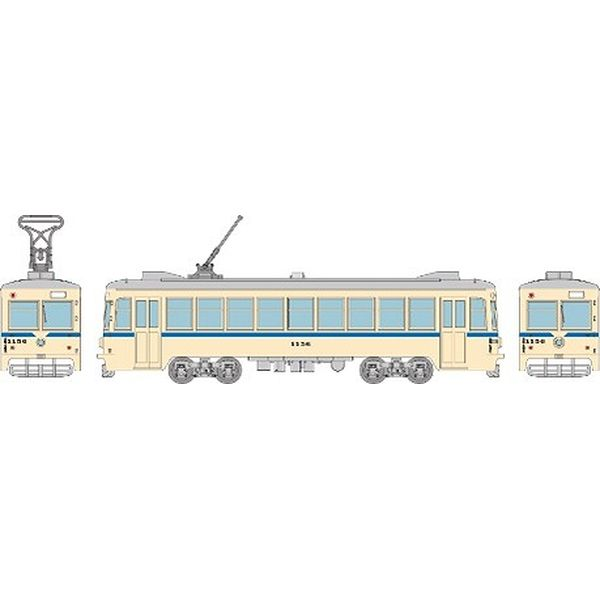 【11月予約】トミーテック Nゲージ 鉄道コレクション 横浜市電1150形1156号車(青帯)B 鉄道模型 315667
