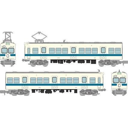 【5月予約】トミーテック Nゲージ 鉄道コレクション 小田急電鉄2200形 2両セットA 鉄道模型 316350