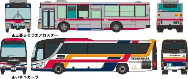 【1月予約】トミーテック Nゲージ ザ・バスコレクション 東急バス (創立30周年記念)2台セット 鉄道模型パーツ 317371