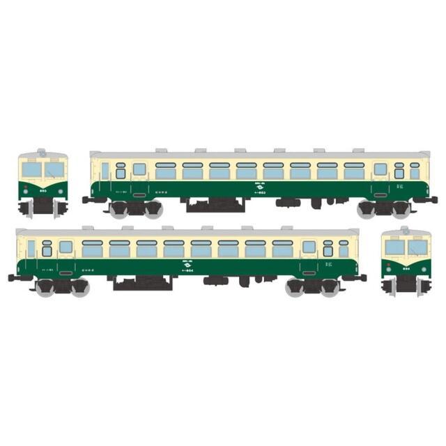 トミーテック Nゲージ 鉄道コレクション 紀州鉄道キハ600 晩年仕様 2両セット 鉄道模型 317890