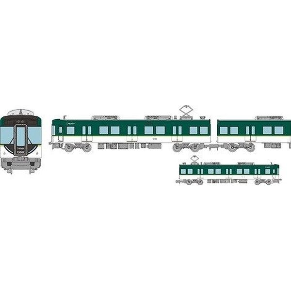 【11月予約】トミーテック Nゲージ 鉄道コレクション 京阪電気鉄道13000系 4両セットB 鉄道模型 318293