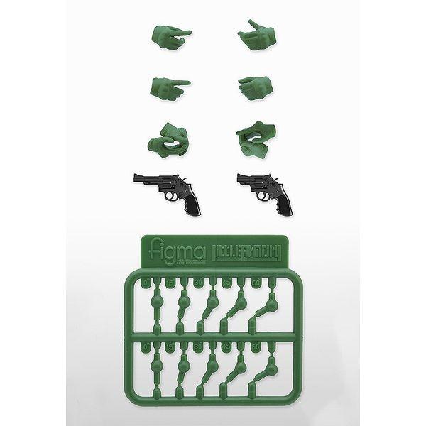 【10月予約】トミーテック figma用タクティカルグローブ2 リボルバーセット「グリーン」 「リトルアーモリー」より フィギュア LAOP07