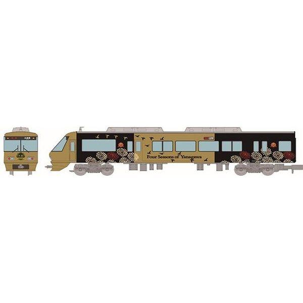 【11月予約】トミーテック Nゲージ 鉄道コレクション 西日本鉄道8000形柳川観光列車「水都」 6両編成セット 鉄道模型 319108