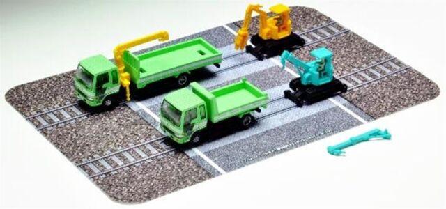【11月予約】トミーテック Nゲージ ザ・トラックコレクション 軌陸保線車両セットC 鉄道模型パーツ 319924