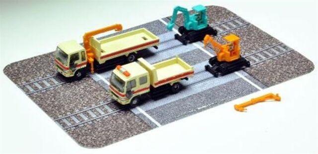 【11月予約】トミーテック Nゲージ ザ・トラックコレクション 軌陸保線車両セットD 鉄道模型パーツ 319931