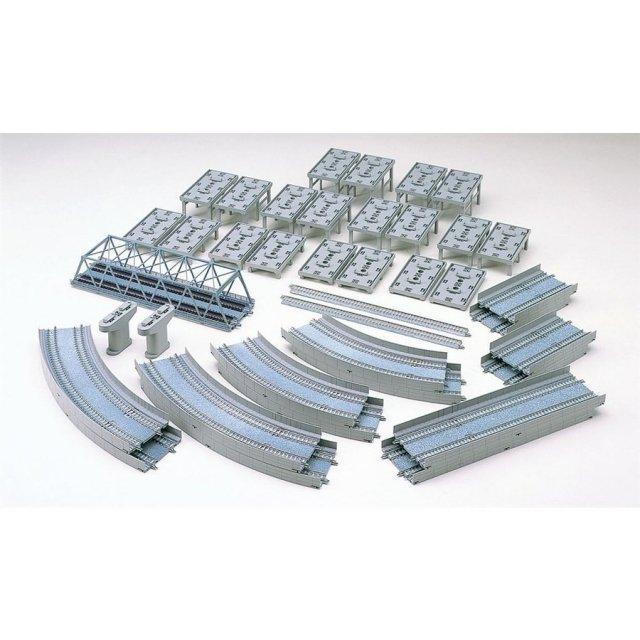 トミックス Nゲージ レールセット高架複線立体交差セット(HCパターン) 鉄道模型パーツ 91074