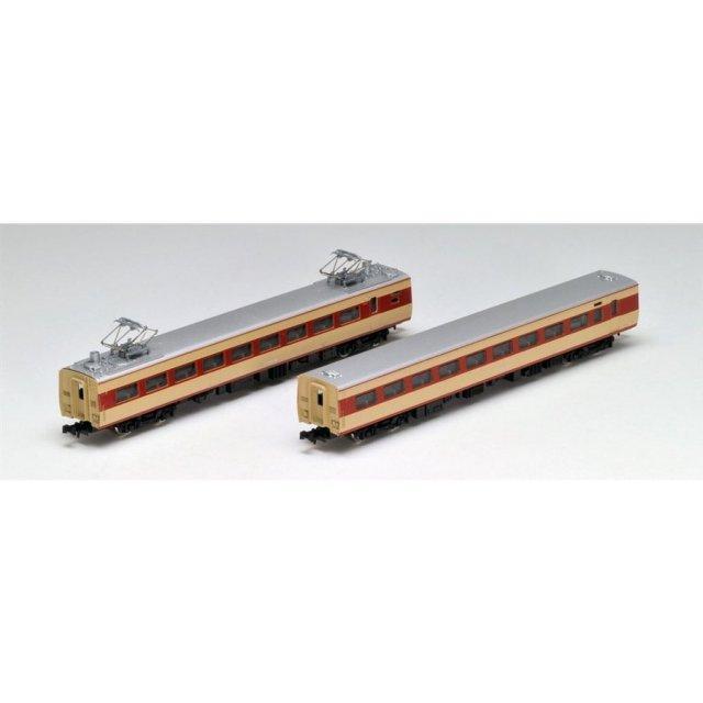 トミックス Nゲージ 国鉄 381系特急電車 2両増結セット 鉄道模型 92897