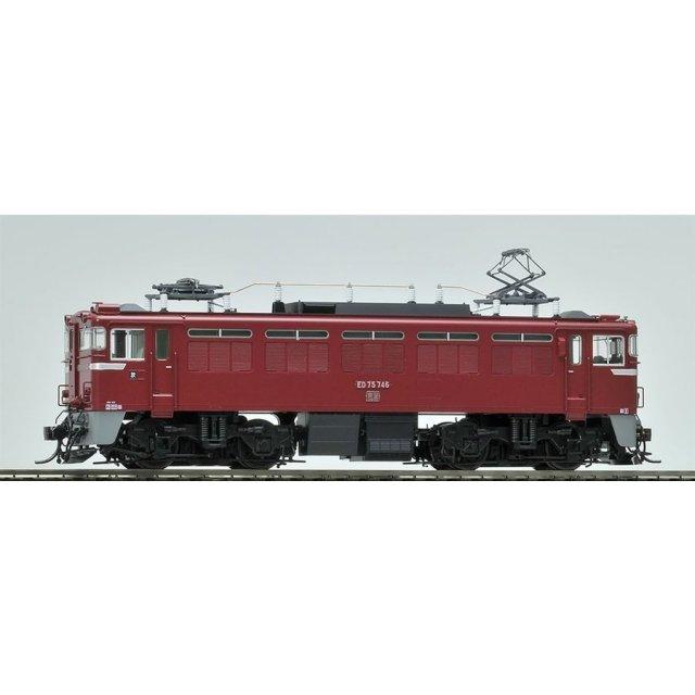 トミックス HOゲージ 国鉄 ED75-700形電気機関車(後期型・サッシ窓・プレステージモデル) 鉄道模型 HO-168